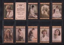 Tobacco cards cigarette cards Cinema Stars 1924 Teofani